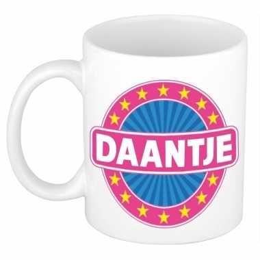 Namen koffiemok / theebeker daantje 300 ml