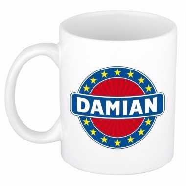 Namen koffiemok / theebeker damian 300 ml