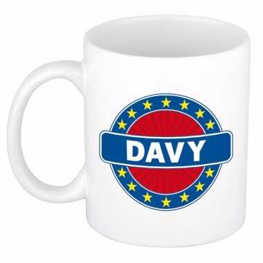Namen koffiemok / theebeker davy 300 ml