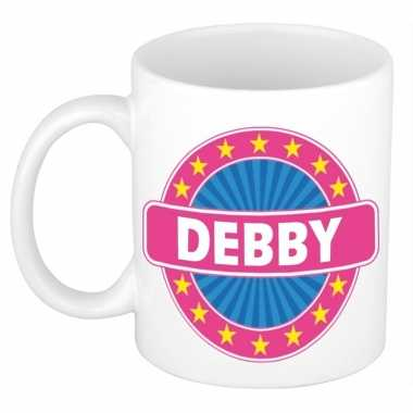 Namen koffiemok / theebeker debby 300 ml