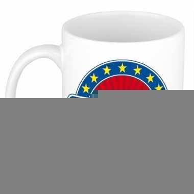 Namen koffiemok / theebeker dominic 300 ml
