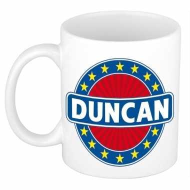 Namen koffiemok / theebeker duncan 300 ml