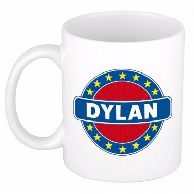 Namen koffiemok / theebeker dylan 300 ml