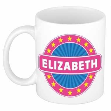 Namen koffiemok / theebeker elizabeth 300 ml