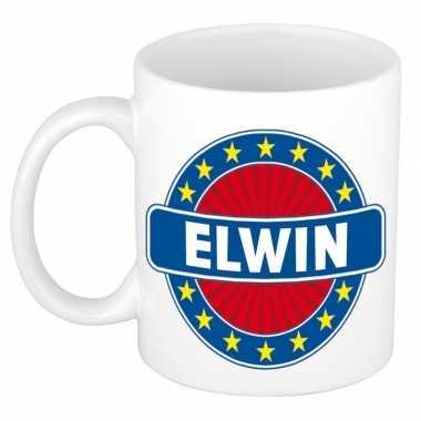 Namen koffiemok / theebeker elwin 300 ml