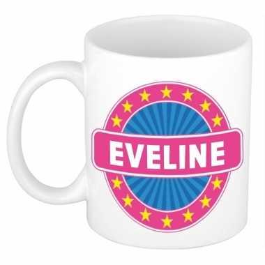Namen koffiemok / theebeker eveline 300 ml