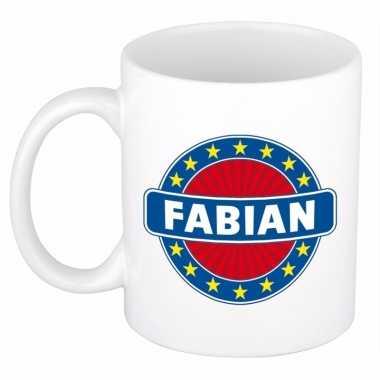 Namen koffiemok / theebeker fabian 300 ml
