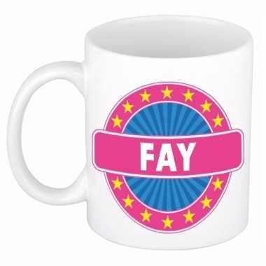 Namen koffiemok / theebeker fay 300 ml