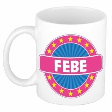 Namen koffiemok / theebeker febe 300 ml