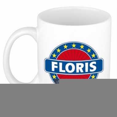 Namen koffiemok / theebeker floris 300 ml