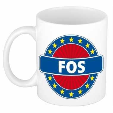 Namen koffiemok / theebeker fos 300 ml