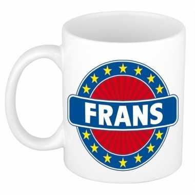 Namen koffiemok / theebeker frans 300 ml