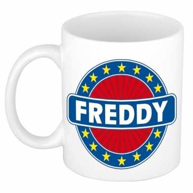 Namen koffiemok / theebeker freddy 300 ml