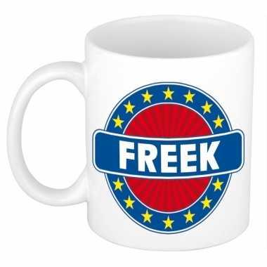 Namen koffiemok / theebeker freek 300 ml