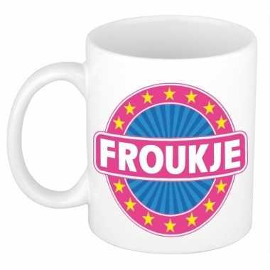 Namen koffiemok / theebeker froukje 300 ml