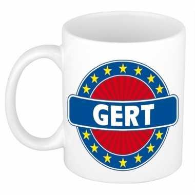 Namen koffiemok / theebeker gert 300 ml
