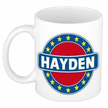 Namen koffiemok / theebeker hayden 300 ml