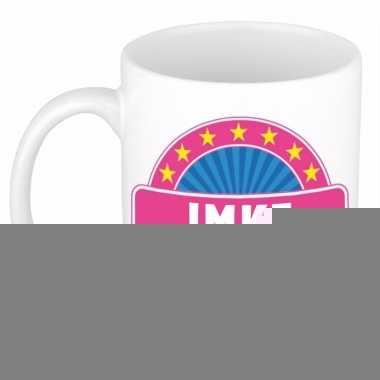 Namen koffiemok / theebeker imke 300 ml