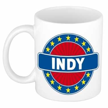 Namen koffiemok / theebeker indy 300 ml
