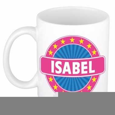 Namen koffiemok / theebeker isabel 300 ml