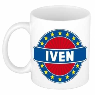 Namen koffiemok / theebeker iven 300 ml