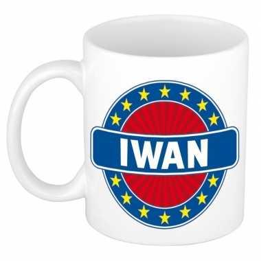 Namen koffiemok / theebeker iwan 300 ml