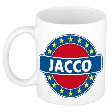 Namen koffiemok / theebeker jacco 300 ml