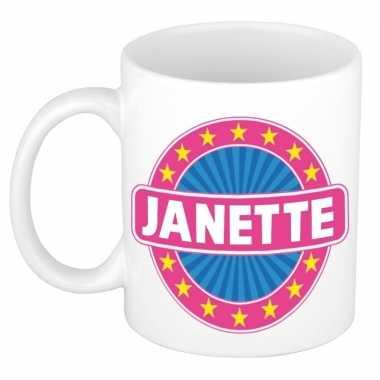 Namen koffiemok / theebeker janette 300 ml