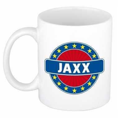 Namen koffiemok / theebeker jaxx 300 ml