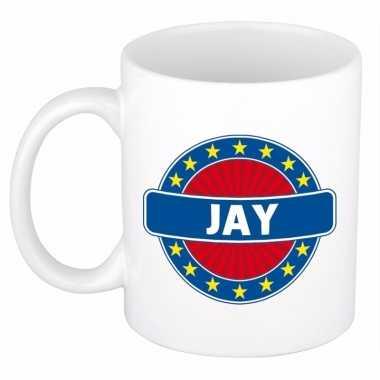 Namen koffiemok / theebeker jay 300 ml