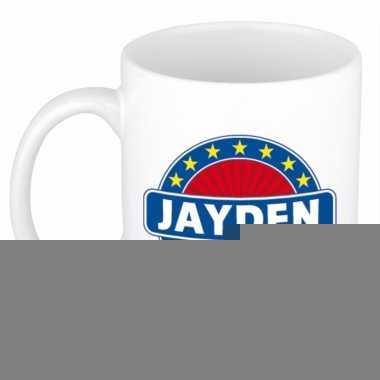 Namen koffiemok / theebeker jayden 300 ml