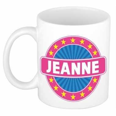 Namen koffiemok / theebeker jeanne 300 ml