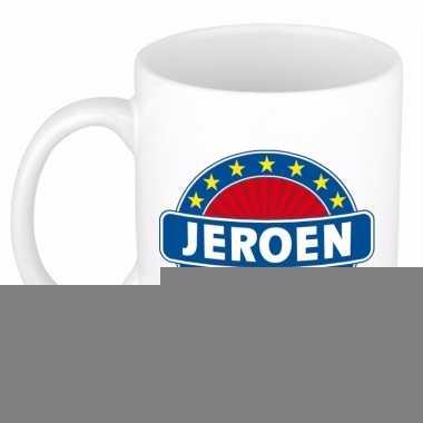 Namen koffiemok / theebeker jeroen 300 ml