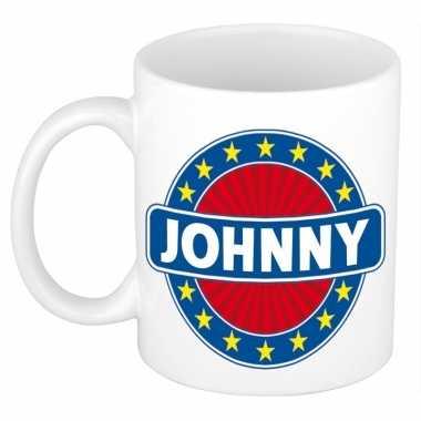 Namen koffiemok / theebeker johnny 300 ml
