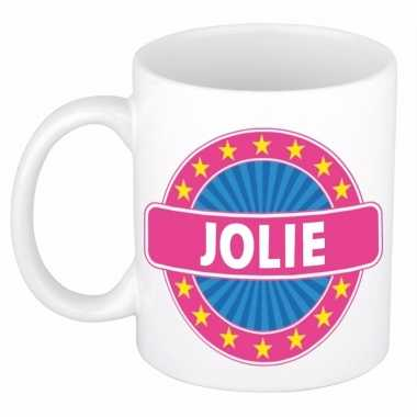 Namen koffiemok / theebeker jolie 300 ml