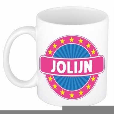 Namen koffiemok / theebeker jolijn 300 ml
