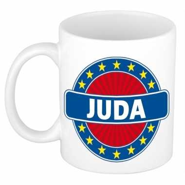 Namen koffiemok / theebeker juda 300 ml
