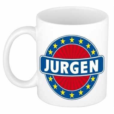 Namen koffiemok / theebeker jurgen 300 ml
