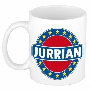Namen koffiemok / theebeker jurrian 300 ml