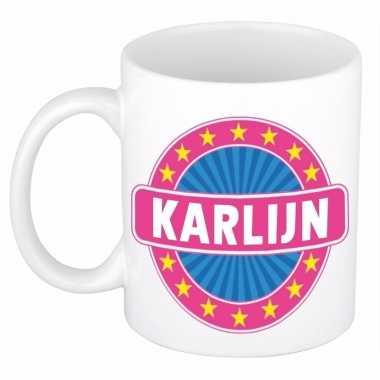 Namen koffiemok / theebeker karlijn 300 ml