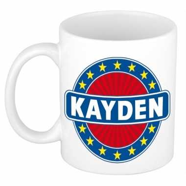 Namen koffiemok / theebeker kayden 300 ml
