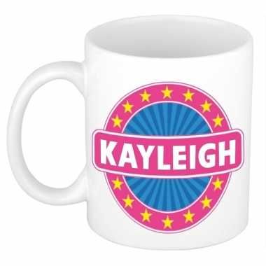Namen koffiemok / theebeker kayleigh 300 ml