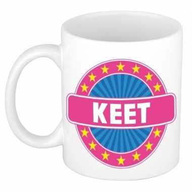 Namen koffiemok / theebeker keet 300 ml
