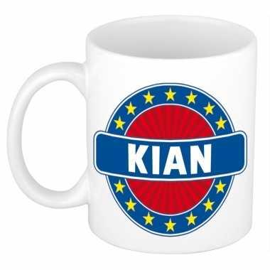 Namen koffiemok / theebeker kian 300 ml