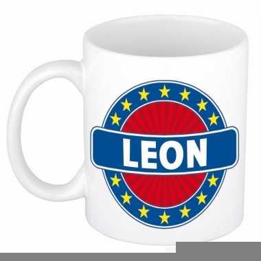 Namen koffiemok / theebeker leon 300 ml