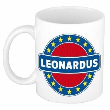 Namen koffiemok / theebeker leonardus 300 ml