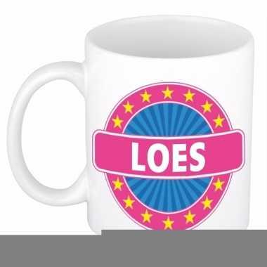 Namen koffiemok / theebeker loes 300 ml