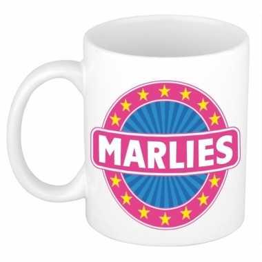Namen koffiemok / theebeker marlies 300 ml