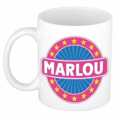 Namen koffiemok / theebeker marlou 300 ml