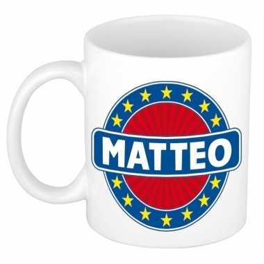 Namen koffiemok / theebeker matteo 300 ml